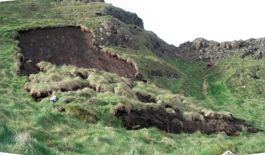 Giant 39 s causeway slope failure types translational slide for Soil definition geology