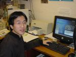 Lei Feng, a student in the Queen's University School of Mathematics & Physics, is the winner of the 2003 Andor Technology opto-electronics prize.