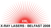 X-Ray Lasers; Belfast 2008