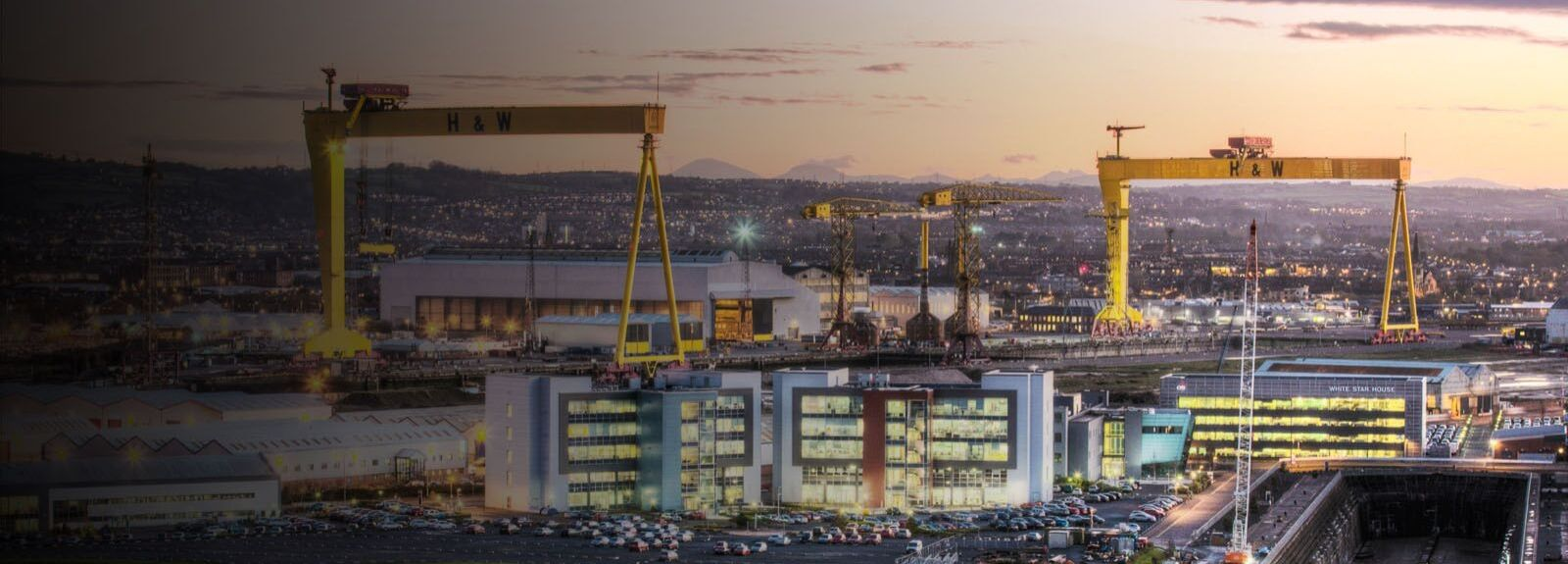 Harland and Wolff cranes
