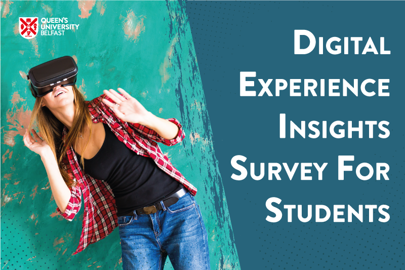 Digital Experience Insights Survey for students
