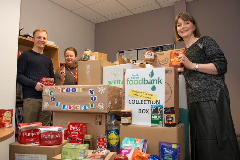 Food bank collection 2017