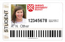Sample image of a student card (smart card)