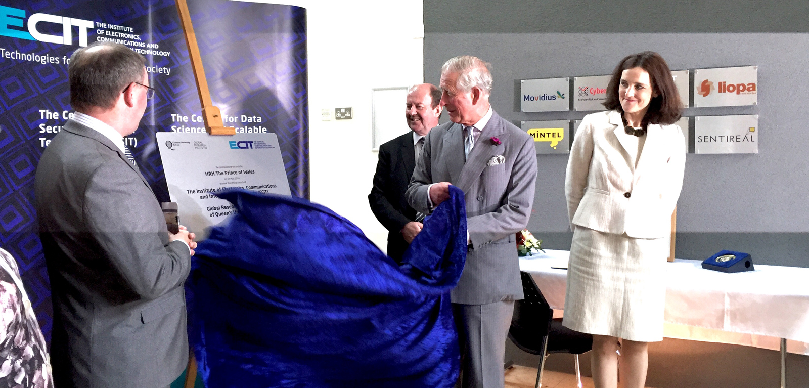 HRH The Prince of Wales ECIT GRI Launch