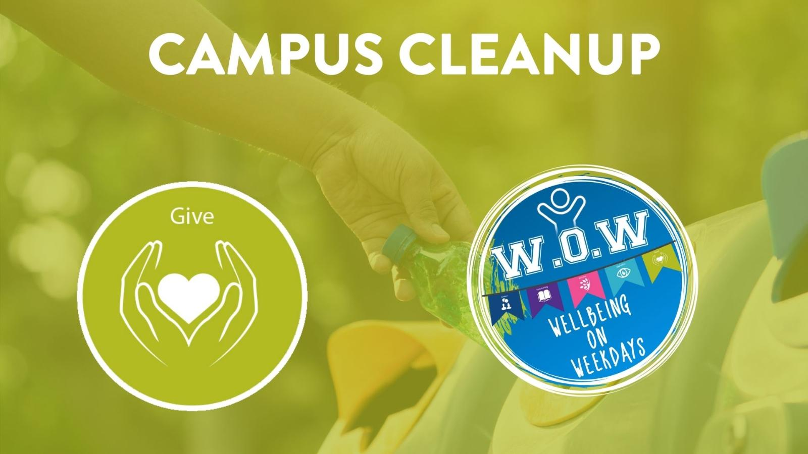 Event image for Campus Cleanup - Give