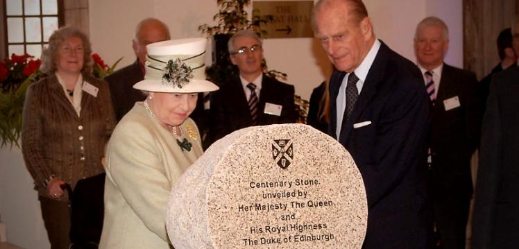 Duke of Edinburgh, Centenary stone