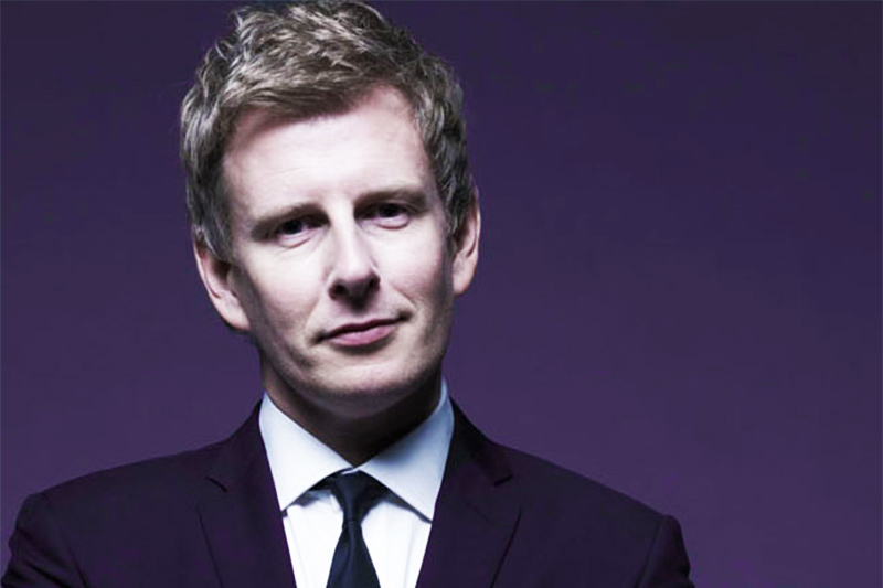 Queen's alumni and comedian, Patrick Kielty