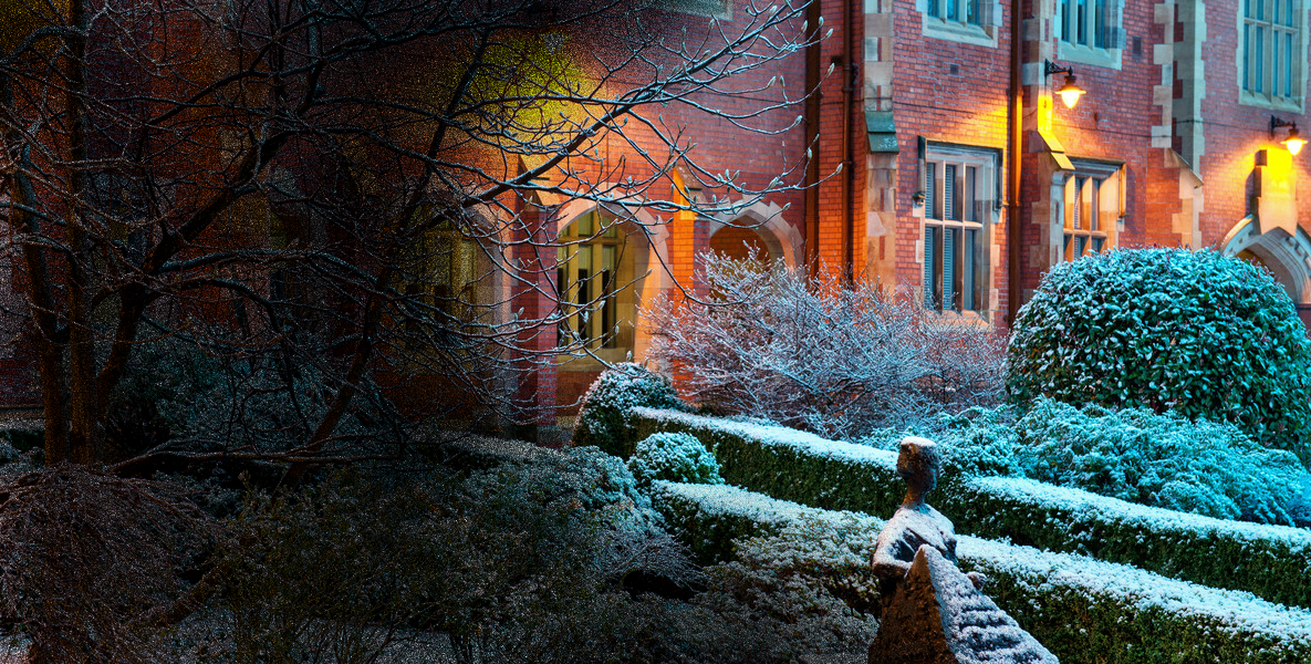 winter in belfast