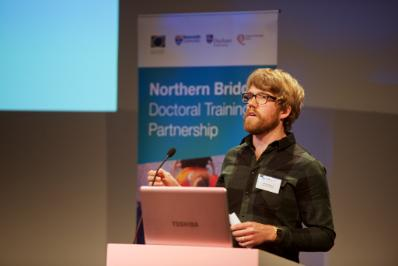 Northern Bridge Student at conference Newcastle 2016