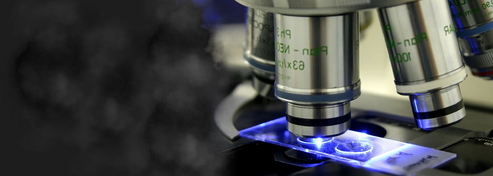 entre for Cancer Research & Cell Biology Microscope Banner 1600X575