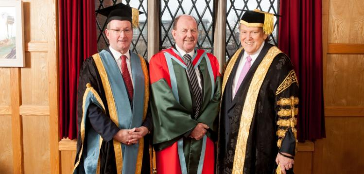 Regius Professorship awarded to Professor John McCanny