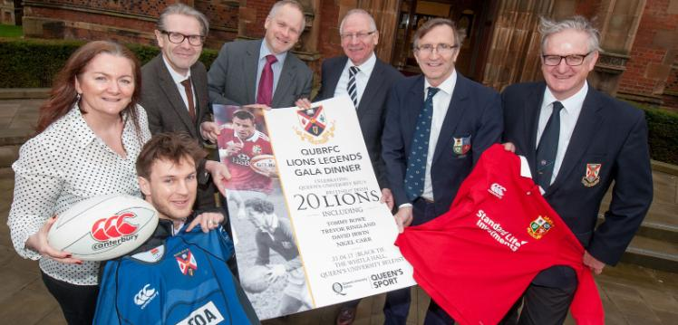 Queen's Lions Legends Dinner & Inaugural Robbie Moore Medal of Honour