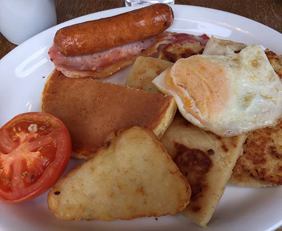 An Ulster fry from Maggie Mays Café