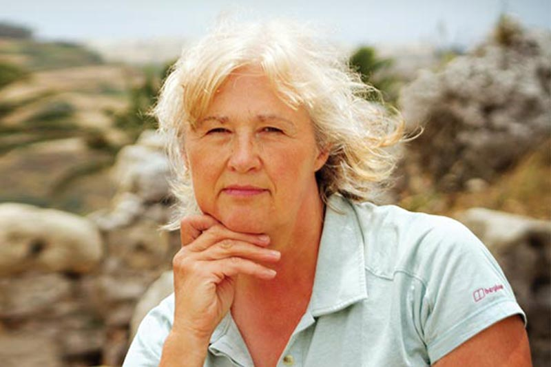 Professor Caroline Malone, professor for the School of Natural and Built Environment