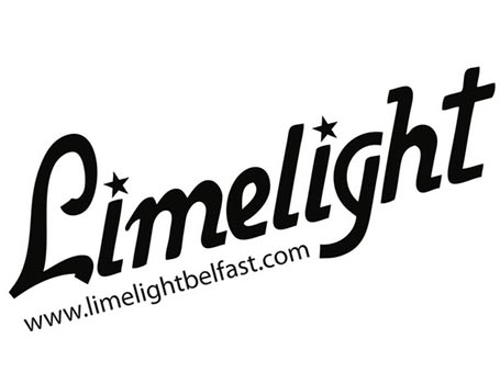 logo for Belfast nightclub, Limelight