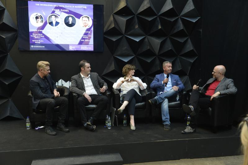 Panel members at the CEC debate at Digital DNA on 7 June in St George's Market