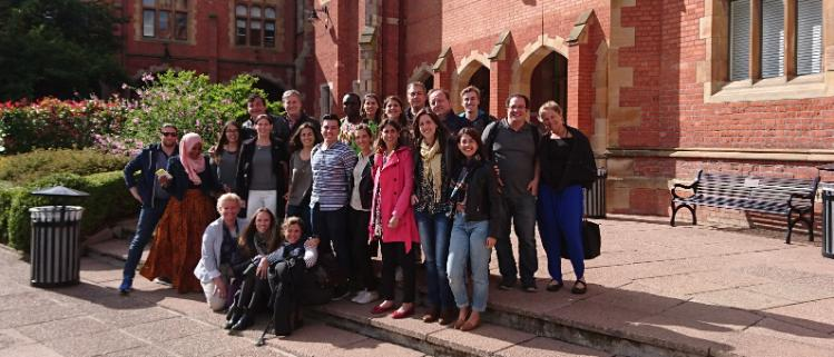Auschwitz Institute visits Mitchell Institute Group Picture