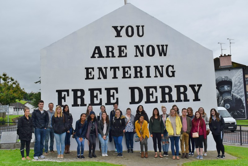 Students Free Derry Wall Summer School 2017