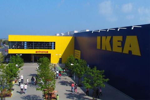 Exterior of the IKEA store at the Holywood exchange near Belfast
