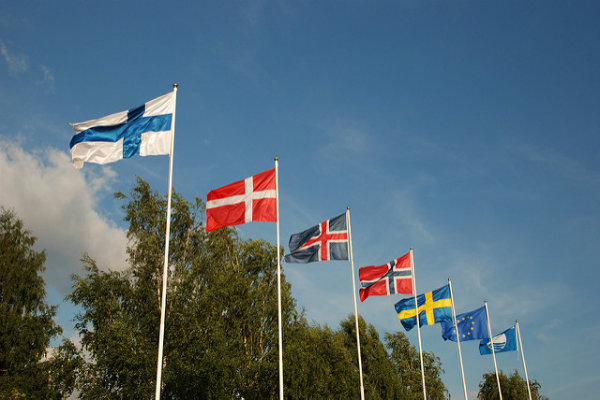 EFTA Flags