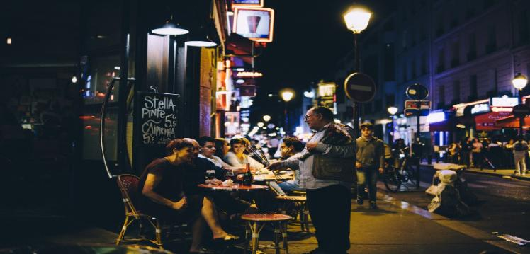 Paris nightlife