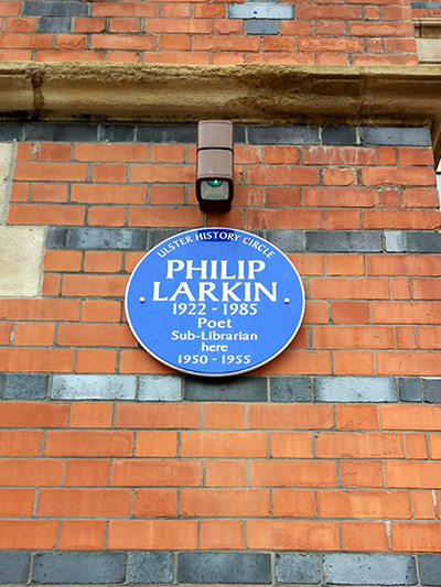 larkin plaque