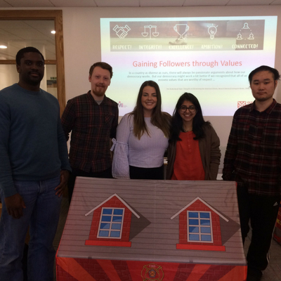 Shreya and house presentation