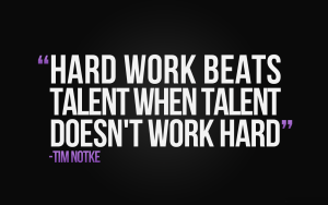 quote about hard work