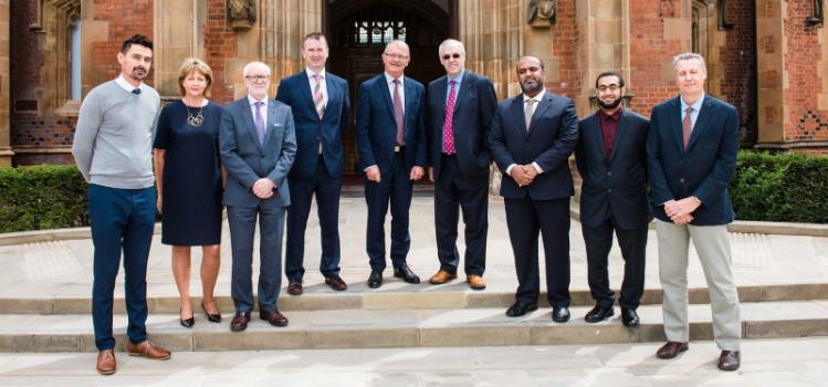 Sohar University Oman and Orpic visit Queen's University Belfast