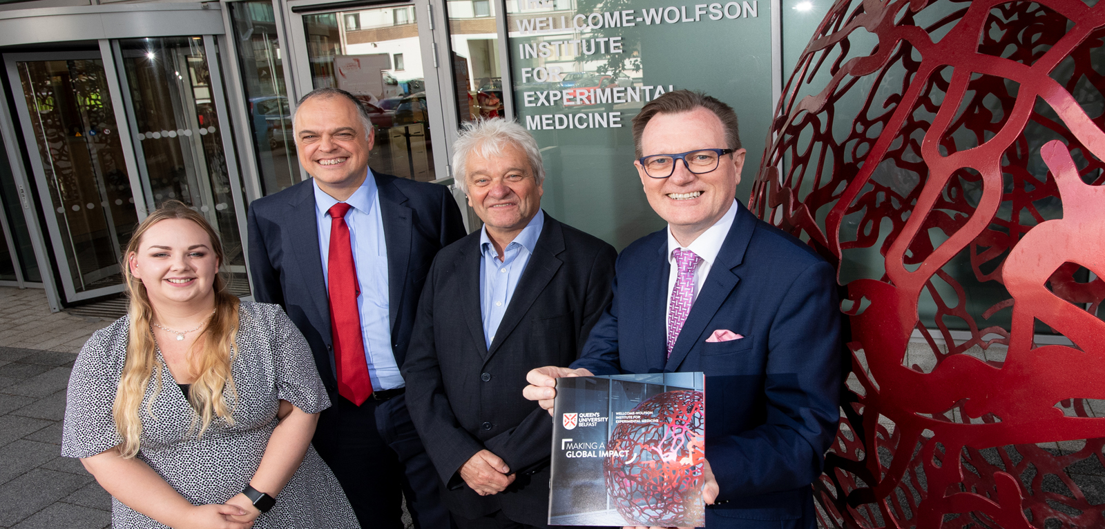 £32m Wellcome-Wolfson Institute for Experimental Medicine opens at Queen's
