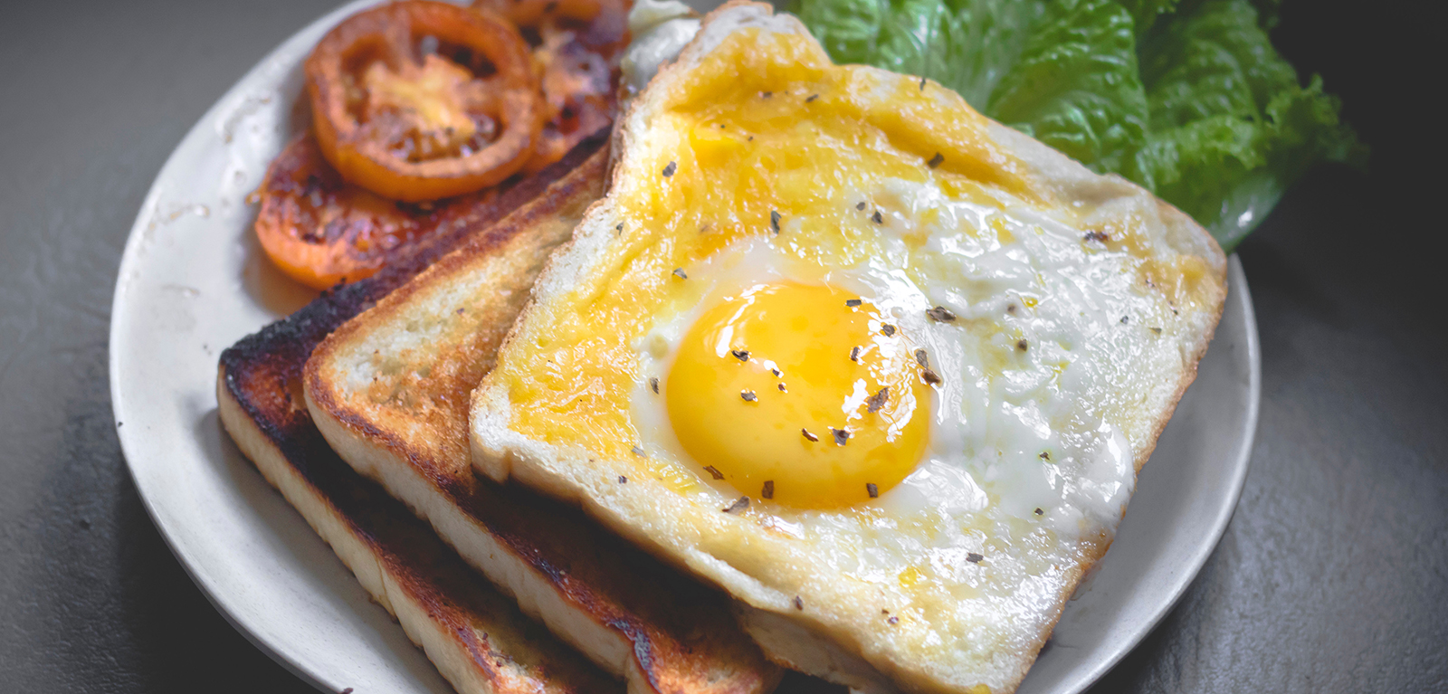 fried egg banner