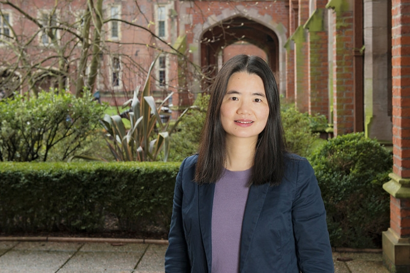 Photo: Professor Biqiong Chen