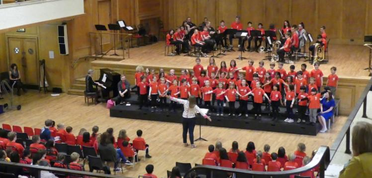 Junior Academy of Music concert, Whitla
