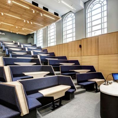 Lecture theatre in the David Keir Building