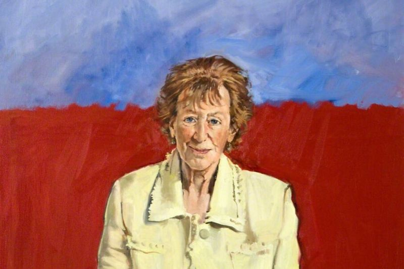 Painting of Dame Ingrid Allen