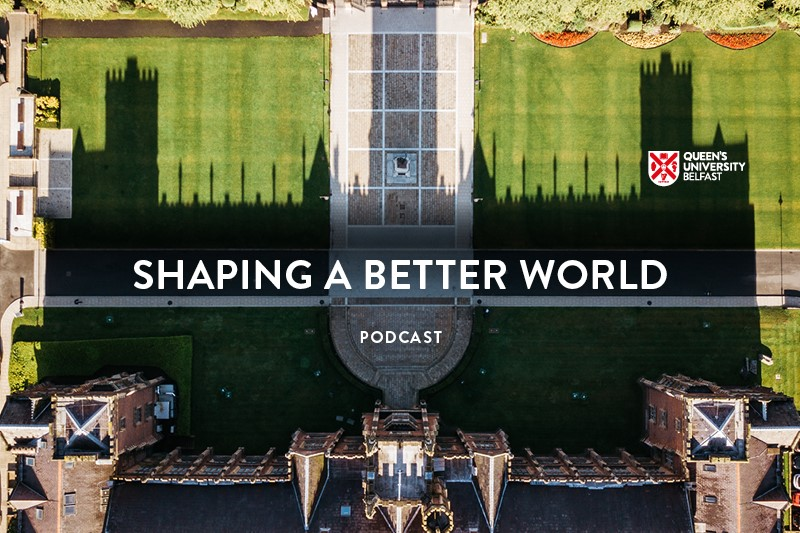 Shaping a better world podcast logo