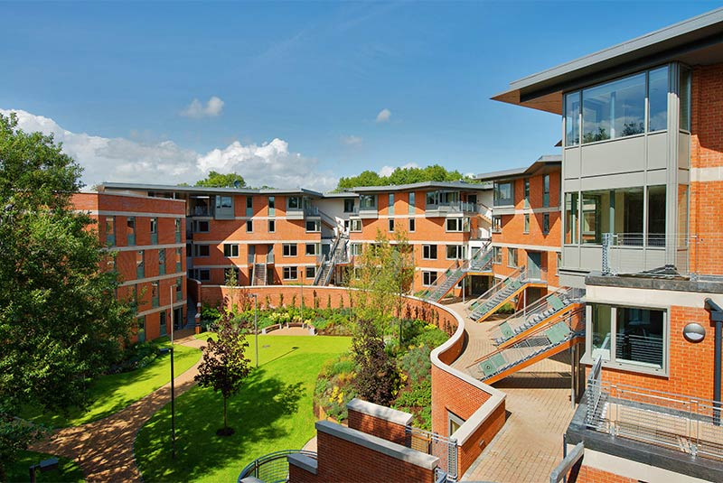 Willow Walk postgraduate and international student accommodation