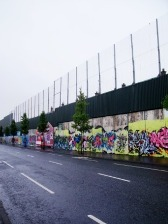 West Belfast 'peacewall'