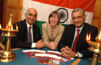 Queen's-India Lecture Series: Lord Diljit Rana; Prof Ellen Douglas-Cowie; His Excellency The High Commissioner of India to London and Mr Kamalesh Sharma.