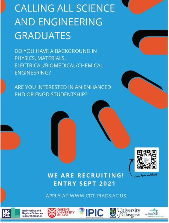 CALLING ALL SCIENCE ND ENGINEERING GRADUATE
