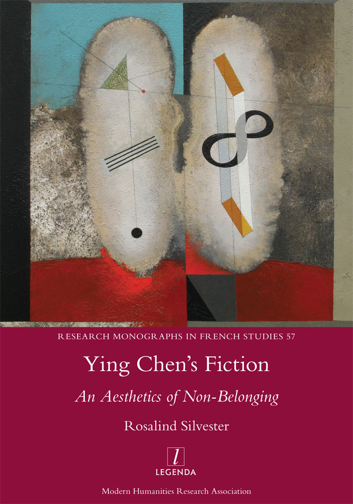 Front cover of Ying Chen's Fiction: An Aesthetics of Non-Belonging
