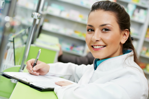 Image of a undergraduate Pharmacy student