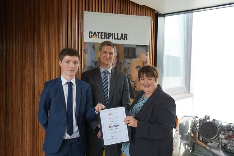 Caterpillar Scholarship Winner