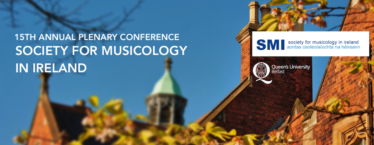 SOCIETY FOR MUSICOLOGY IN IRELAND