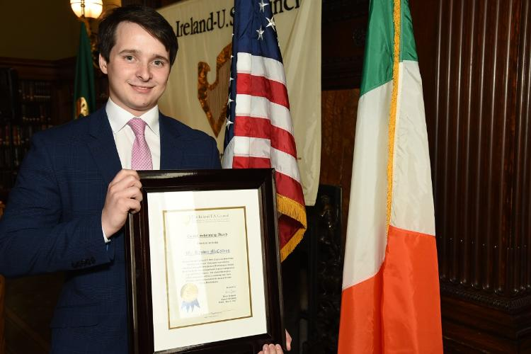 Reuben McCollum - US-Ireland Council Scholarship