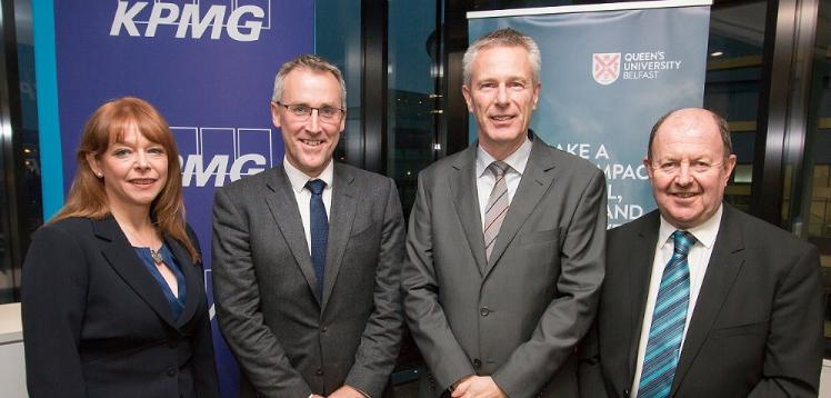 Queen's Management School and Chief Executive's Club Annual KPMG Lecture Series