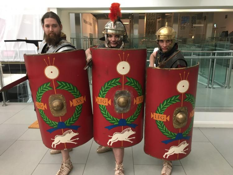 Three Roman Warriors - Classic and Ancient History event - 9 Feb 2018