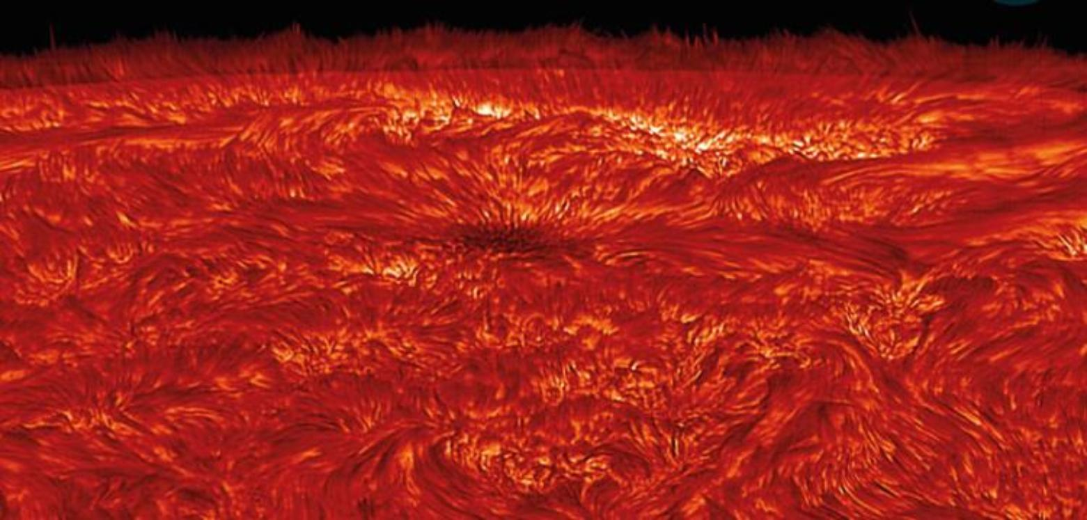 News How Magnetic Heatwaves Heat The Sun School Of Mathematics