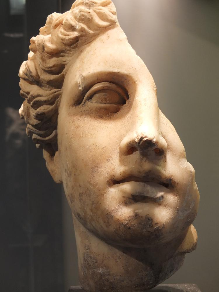 Bust of Greek Goddess