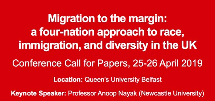 Migration to the margin - call for papers - 25 April 2019